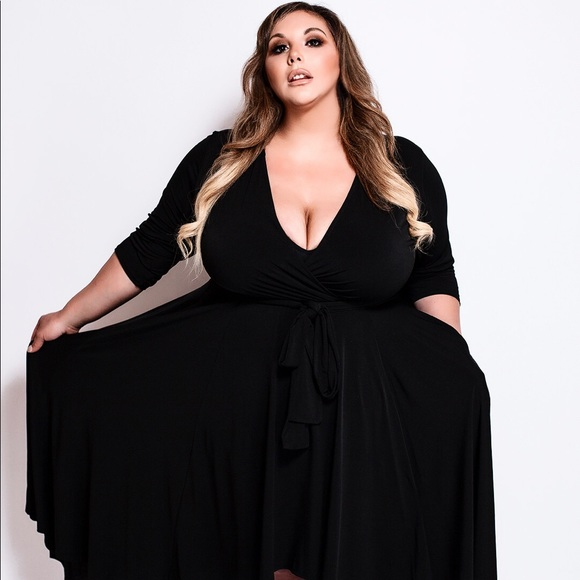Plus Size 'Goddess' High Low Dress Boutique
